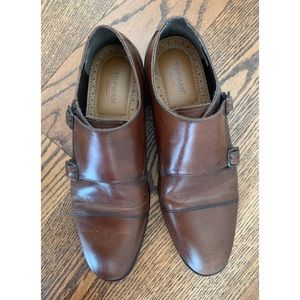 TOPMAN real leather oxford shoes